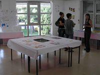 Cours « Atelier de conception » en BTS design d'espace en collaboration avec Géraldine Bayard. Année universitaire 2006/07. Professeur contractuel à IPESAA (Institut Privé d'Enseignement Supérieur des Arts Appliqués) - Montpellier.