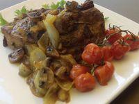 Epaule d'agneau au four à la marocaine