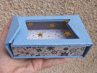 """La boîte à chocolats """"Éclat d'étoiles"""" de Sandrine D. de Pessac."""