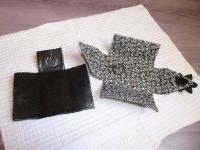 2 porte-clés en cuir sans couture