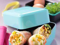 Vu dans le Best of du magazine Gourmand, des idées recettes originales d'oeufs avec du saumon !