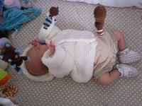 Les vêtements et accessoires pour bébés faits mains et personnalisés 1 brin 2 folie
