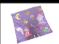 Les couvertures brodées personnalisées pour enfants 1 brin 2 folie