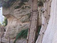 Le Mont Hua, l'incroyable chemin de la mort, Chine