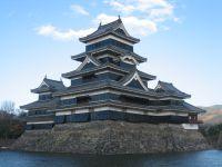 Le château de Matsumoto, château historique &quot&#x3B;le corbeau noir&quot&#x3B;, Japon