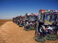 Cadillac Ranch, Texas, USA