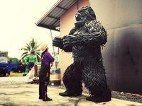 Ban Hun lek, Sculptures incroyables en métal, Thaïlande