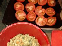 Tomates crumblelisées
