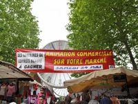 Fête des mères 2014 sur le marché de Cergy St Christophe