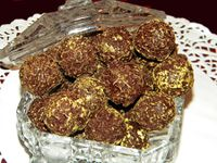 CHOCOLATS DE NOEL : CHARDONS A LA LIQUEUR FACILES (SANS COULAGE DANS L'AMIDON)
