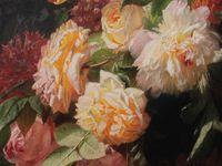 Le rosier (et le peintre) Jean Robie