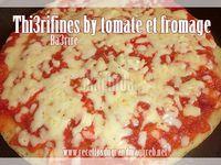Thi3rifines, Ba3rire bi tomate et fromage