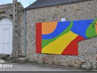 Néville se pare des toiles de &quot&#x3B;mémoire en couleurs&quot&#x3B;