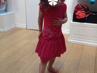 Sélection de ma fille Catimini Cyrillus, robe d'été à fleurs, papillons ou pour cortège de mariage en liberty (promo magasin d'usine)