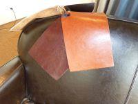 Interiors Canapé Club en cuir modèle Steed
