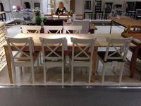 IKEA Nornäs - table en bois et chaises La redoute AM.PM photo du blog Emilie sans chichis