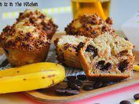 Muffins Chocolat et M&amp&#x3B;M's Coeur au Beurre de Cacahuète