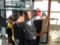 Installation et inauguration de l'exposition