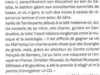 Extraits du magazine Télérama du 28 juillet 2004