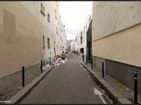 """Au centre, la ruelle """"Allée verte"""""""