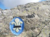 Au col de la Croix, les limites du Dauphiné et de la Savoie. La combe Madame.