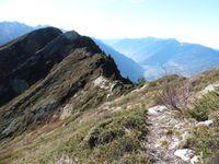 Depuis le Char de la Turche, le Petit et le Grand Arc, la Dent d'Arclusaz et le sentier des crêtes.