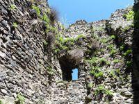 La tour sud-est. On peut accéder à l'intérieur.