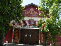 Au monastère bouddhiste.