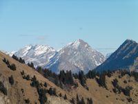 Vers le mont d'Orisan. Une vue du Charvin.