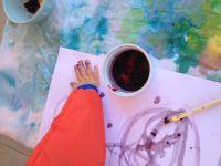 Peinture végétale : Peindre avec des mûres sauvages