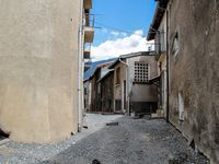 La Mure Argens  : Travaux rue du Milieu