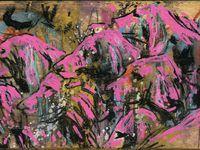 Acrylique / pastel sur bois (30x15)