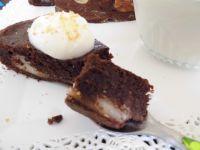 Gâteau fondant choco-coco