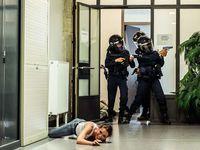 Béziers(34) : Vidéo &amp&#x3B; Photos - Exercice attentat avec la Police Municipale