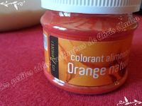 Macarons fourrés à l'orange