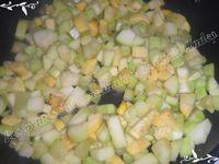 Cassolettes courgette / poulet