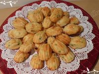 Mini-madeleines courgettes / mozzarella