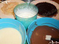 Mon bavarois poire / chocolat ...