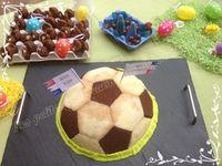 Gâteau d'anniversaire ballon de foot