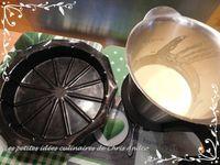 Moelleux au lait concentré sucré, citron &amp&#x3B; pépites de chocolat