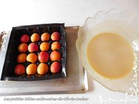 Clafoutis aux abricots et caramel au beurre salé