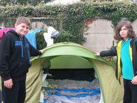 La &quot&#x3B;météo des tentes&quot&#x3B; à Siouville