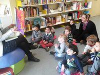 Jeudi 24 mars: 2ème visite à la bibliothèque