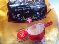 Fondue Savoyarde aux 4 fromages de Marque Savoie .