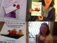 Je vous fais gagner deux livres &quot&#x3B; Les Gourmandises de Bénédicte&quot&#x3B; pour les fêtes 2015 .