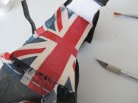 DIY: My shoes are so british!