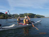 Sortie sur le lac de Sanguinet (2)