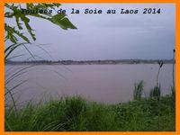 Foulées du Laos 2014. Course 10 km de Vientiane.