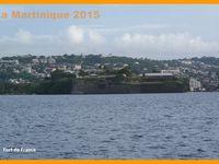 La Martinique 2015. Départ pour l'île de La Dominique.Jour 7