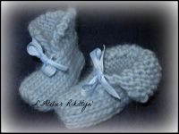 2013.11.23 - Petits chaussons au tricot